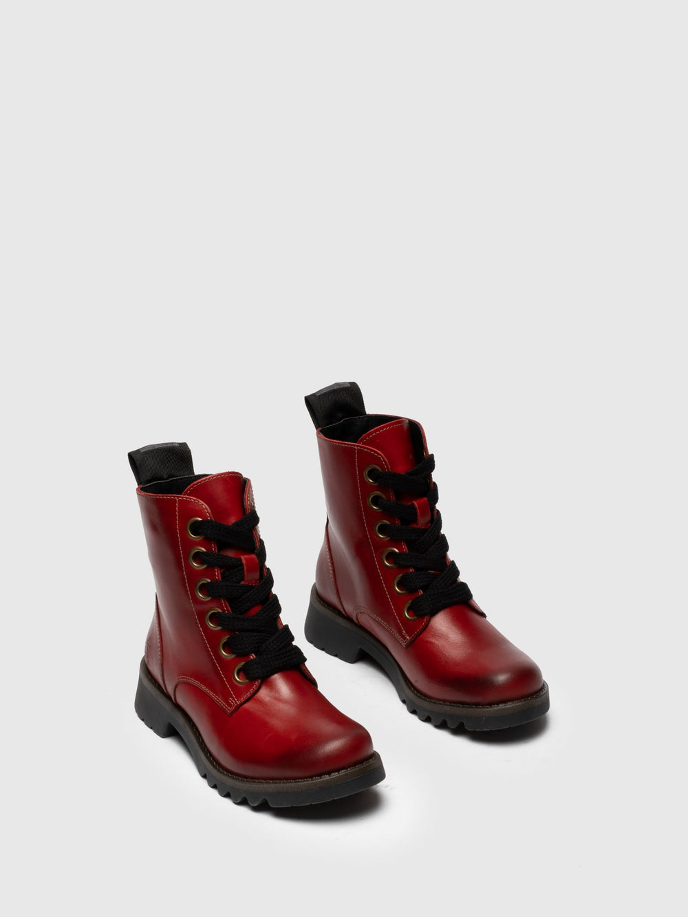 Lace-up Ankle Boots RAGI539FLY RED