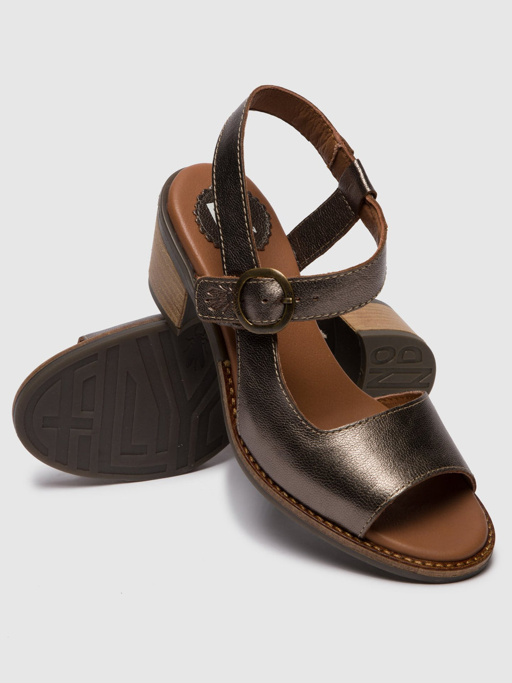 Buckle Sandals ZORA583FLY BRONZE