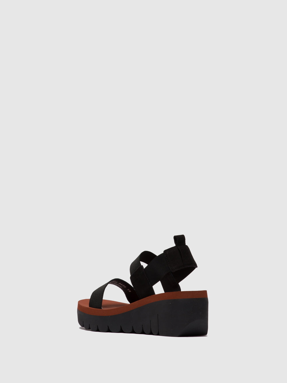 Sling-Back Sandals YACI594FLY BLACK (BRICK)
