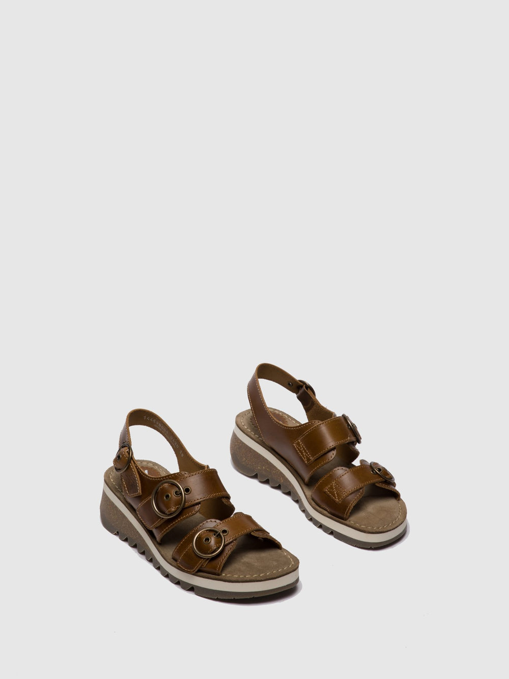 Buckle Sandals TEAR 2 CAMEL