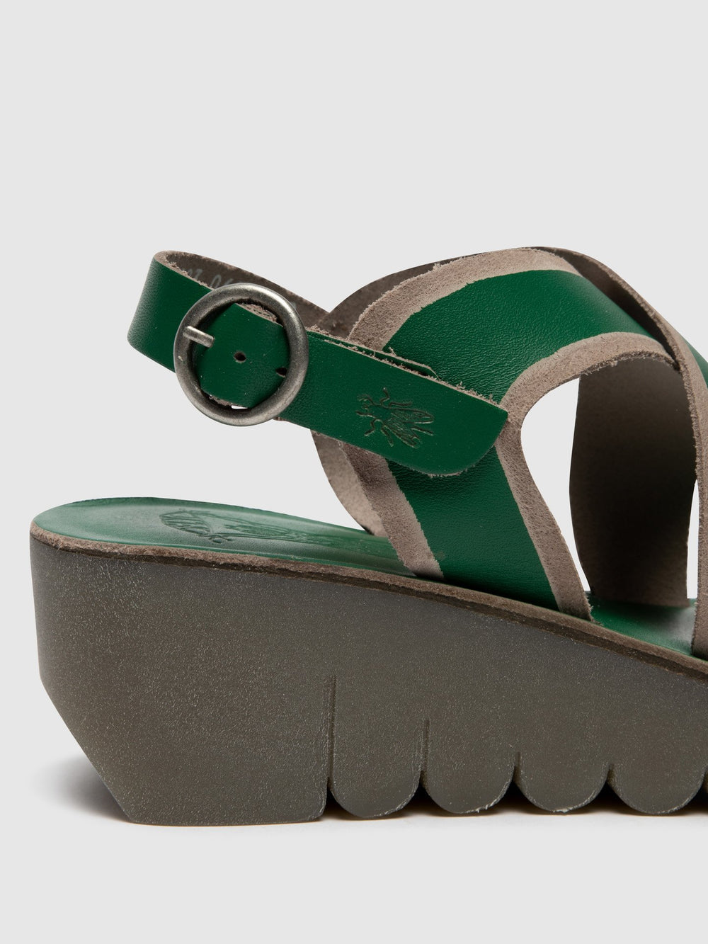 Crossover Sandals YAZE605FLY GREEN/GREY