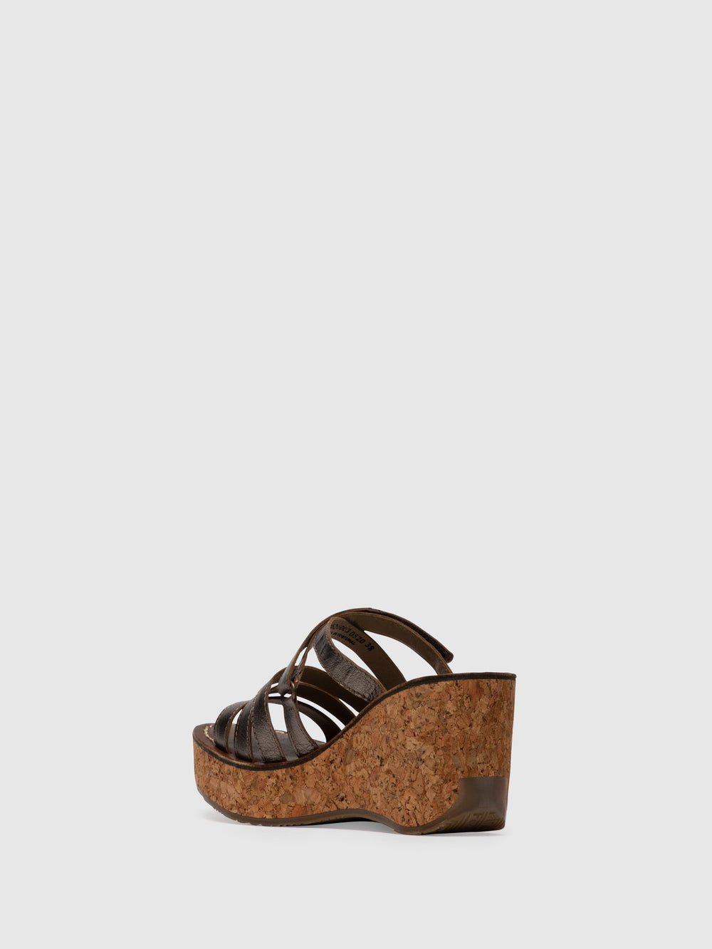 Strappy Mules GOVE620FLY BRONZE