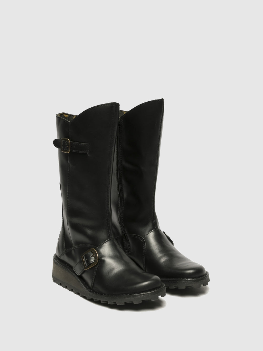 Buckle Boots MES BLACK