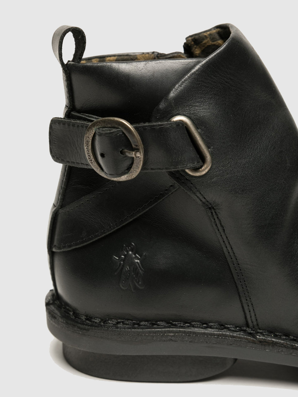 Buckle Ankle Boots FICO968FLY BLACK
