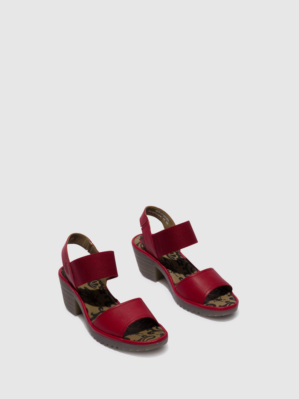 Open Toe Sandals WOST074FLY LIPSTICK RED