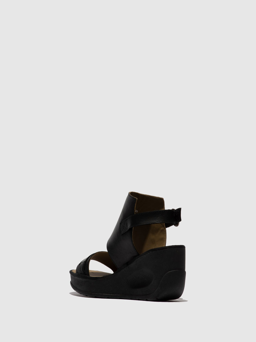 Ankle Strap Sandals JENO104FLY BLACK