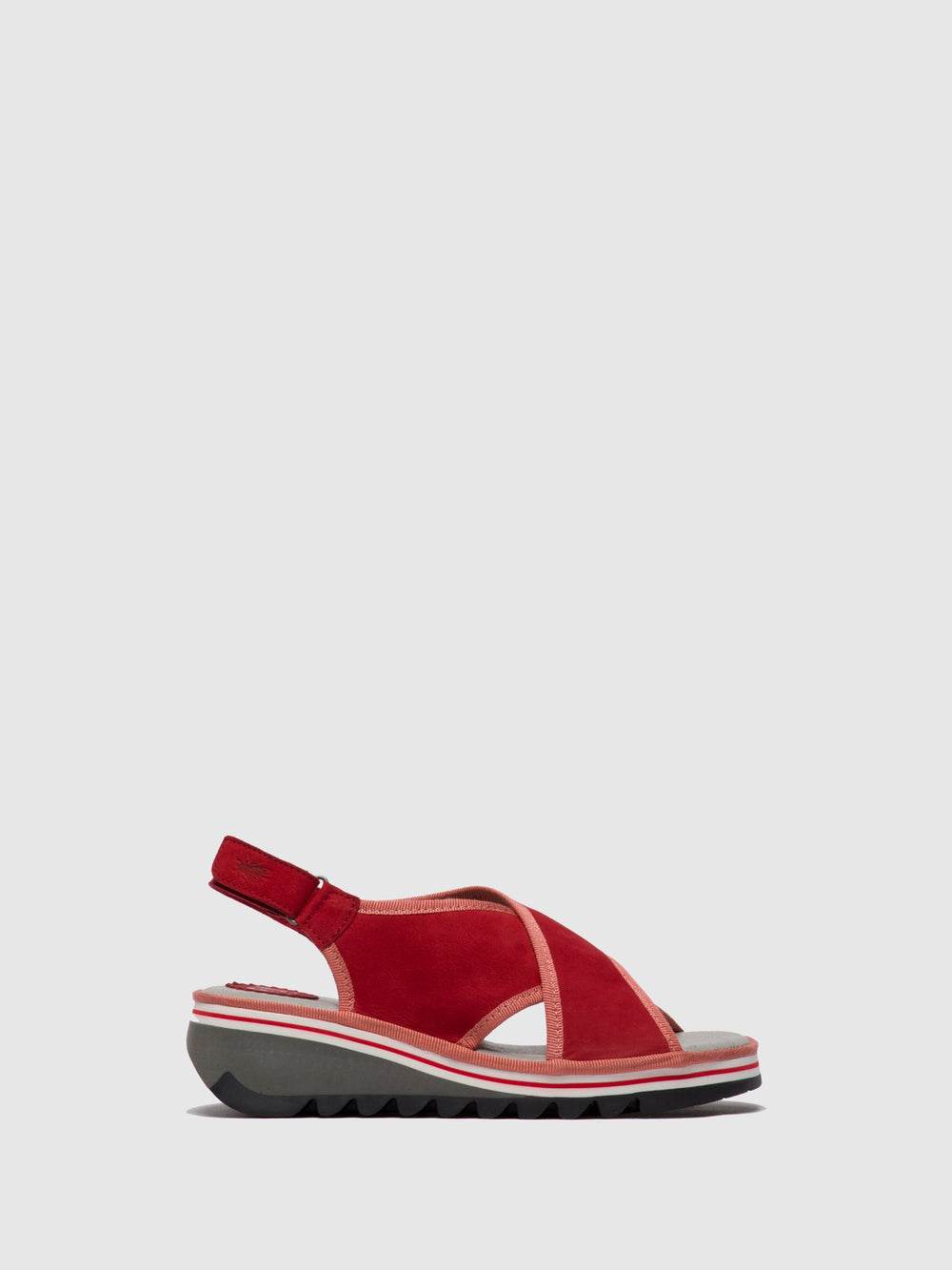 Crossover Sandals TANO133FLY LIPSTICK RED