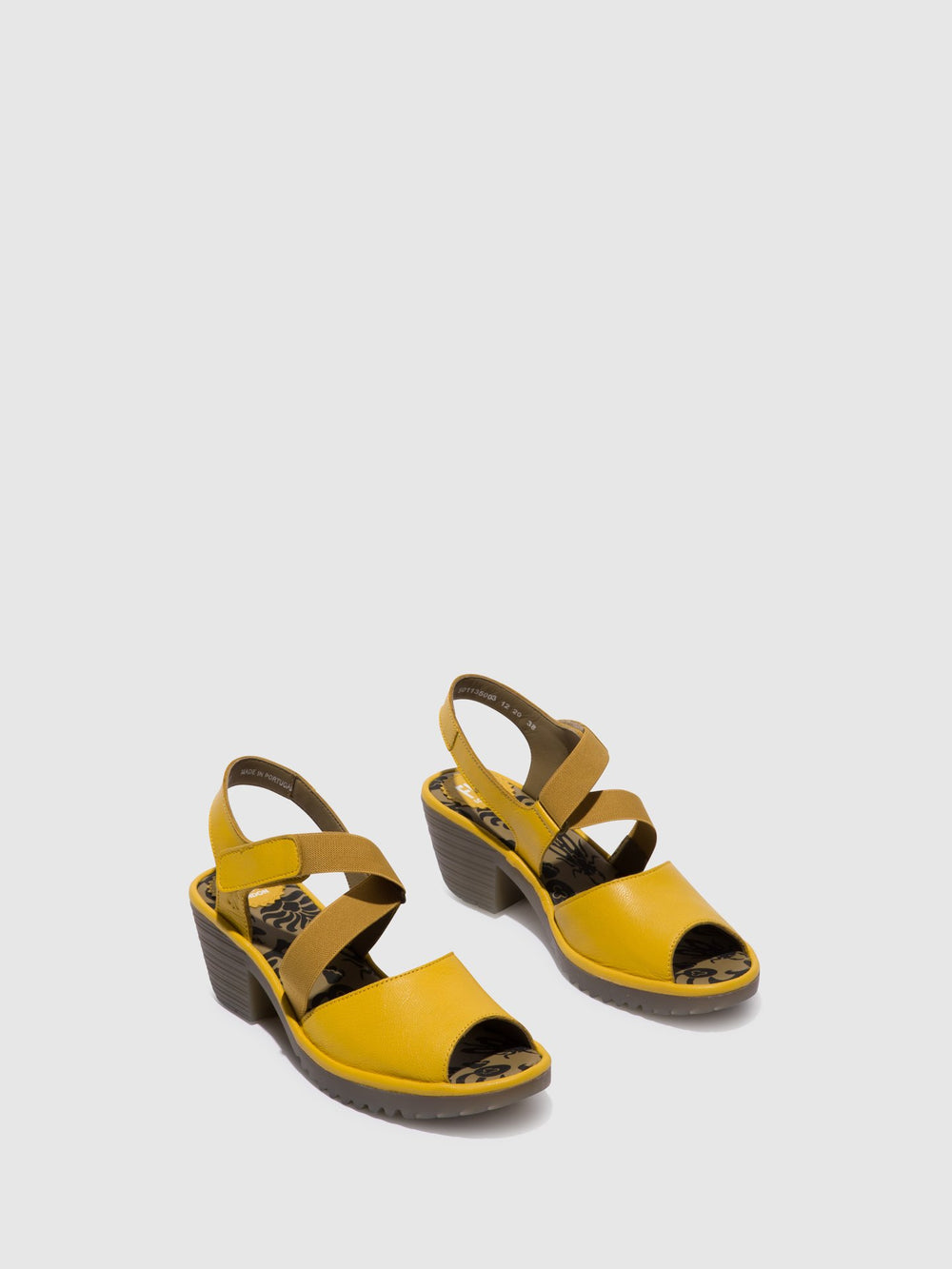Velcro Sandals WUNI135FLY BRIGHT YELLOW