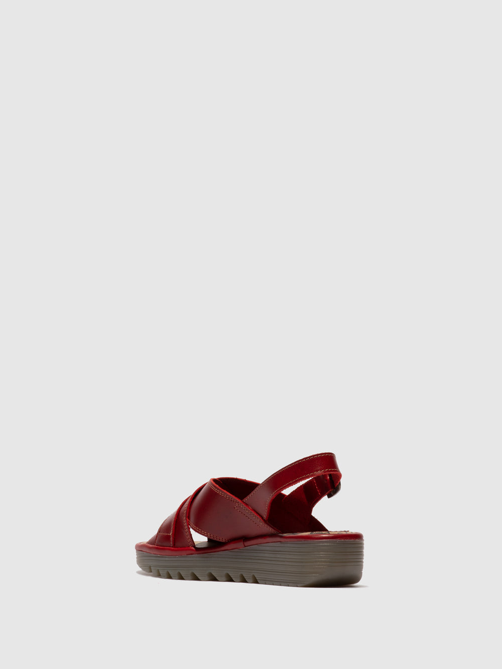 Sling-Back Sandals EKON142FLY RED