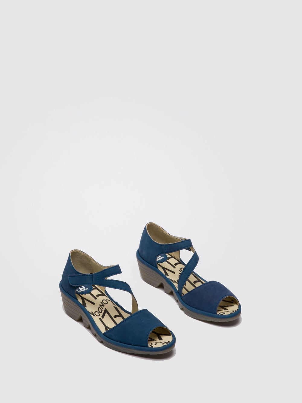 Velcro Sandals PONA156FLY BLUE
