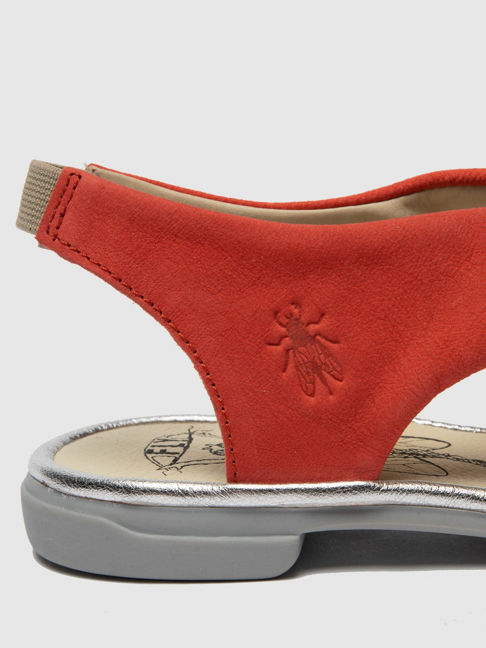 Crossover Sandals CABI168FLY DEVIL RED/SILVER