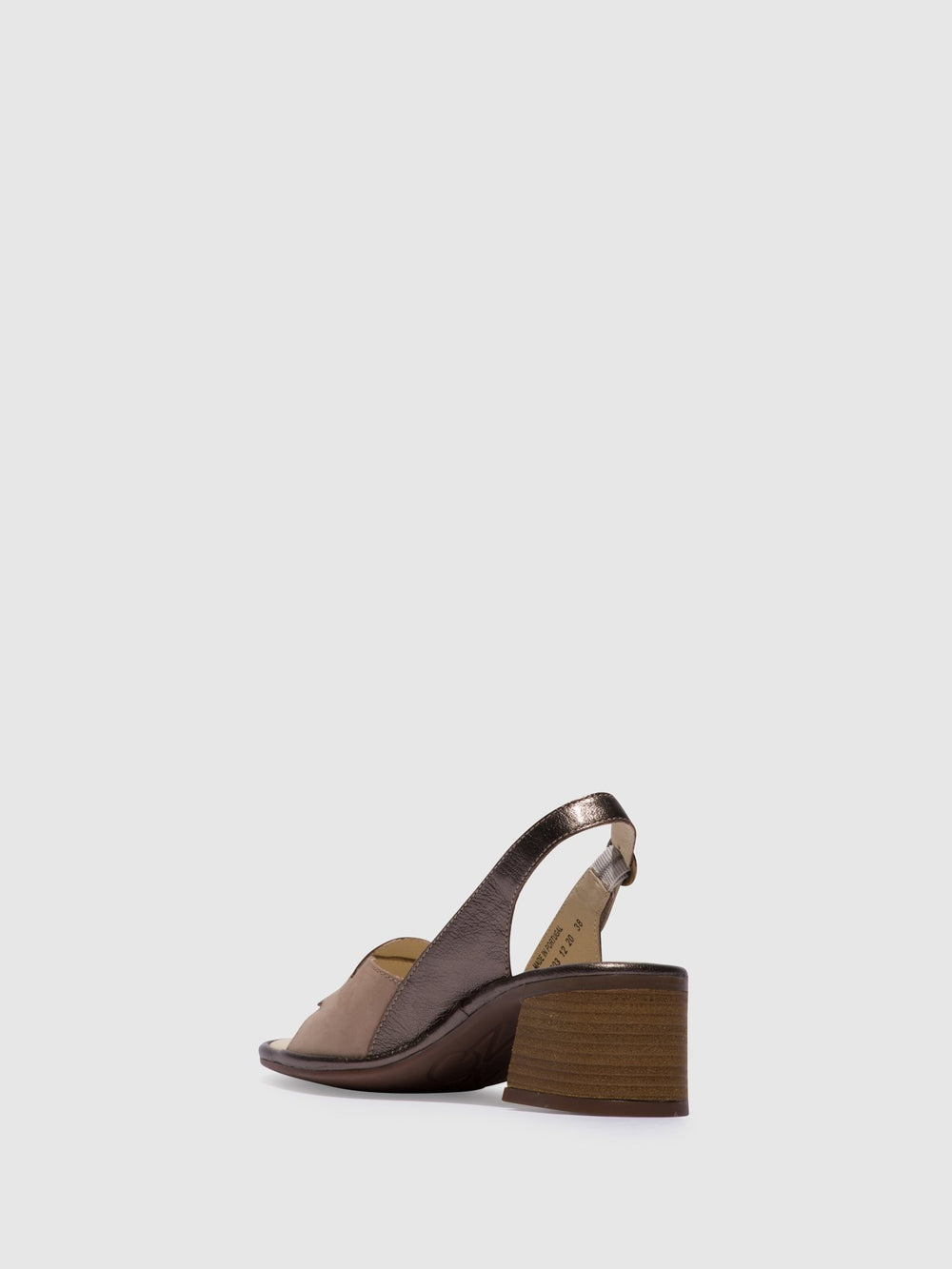 Sling-Back Sandals LESO179FLY CONCRETE/BRONZE