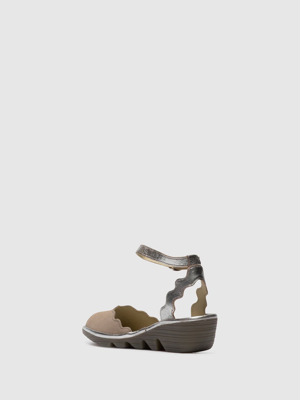 Ankle Strap Sandals PINE192FLY CONCRETE/SILVER