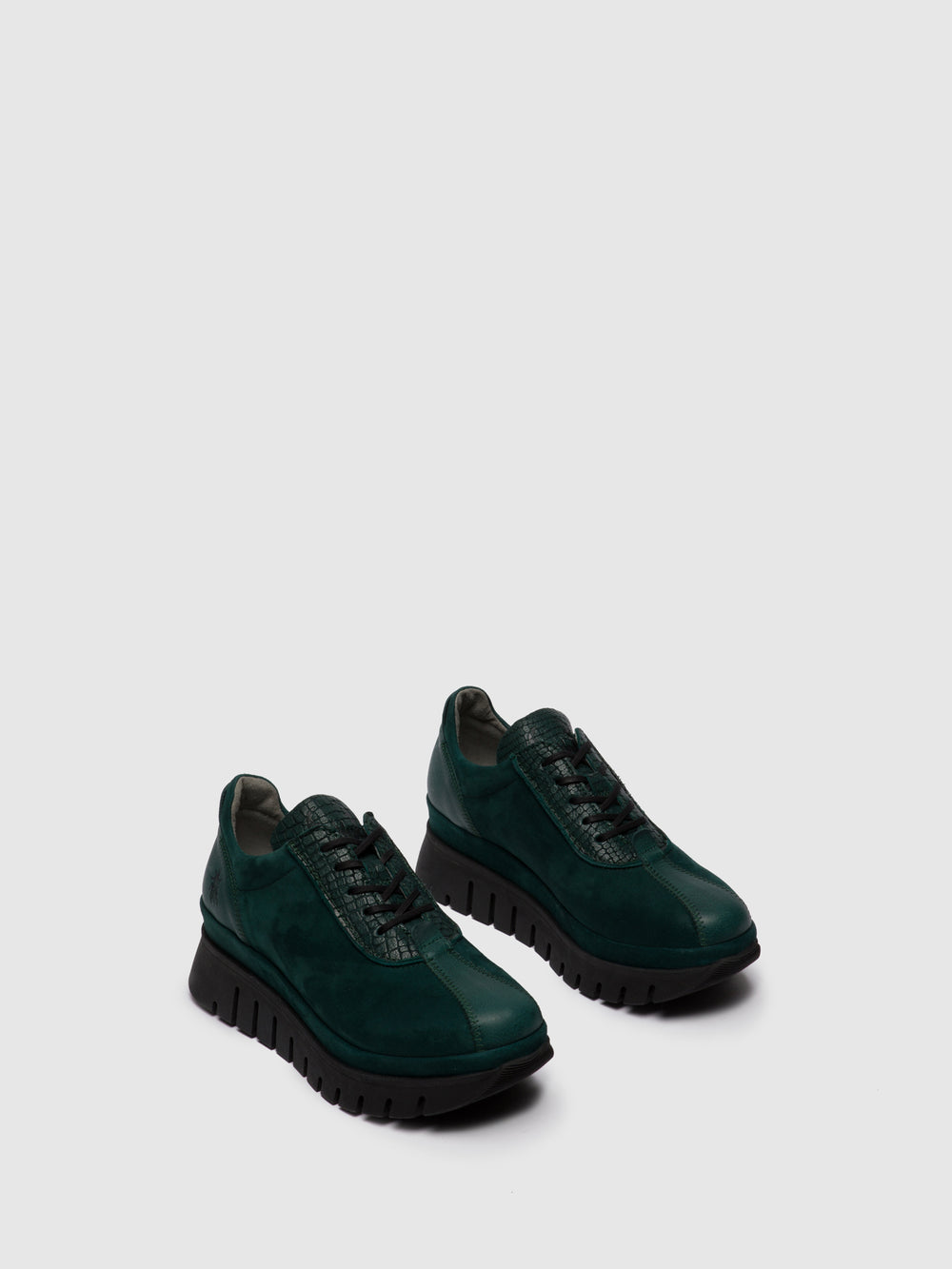 Lace-up Trainers BESI203FLY VERONA/CROCO/SILKY GREEN FOREST
