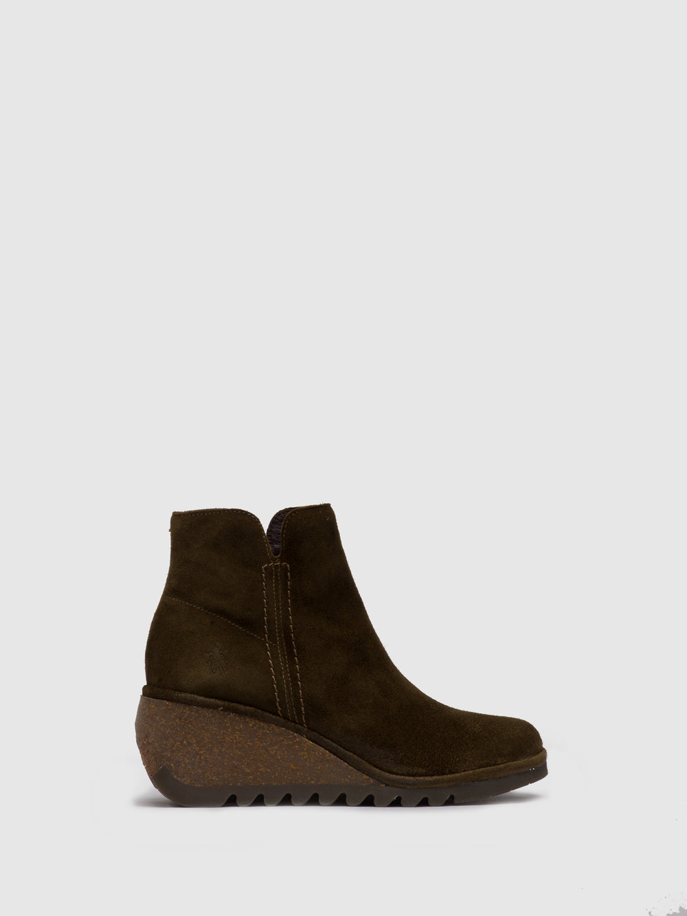 Zip Up Ankle Boots NILO256FLY OILSUEDE SLUDGE