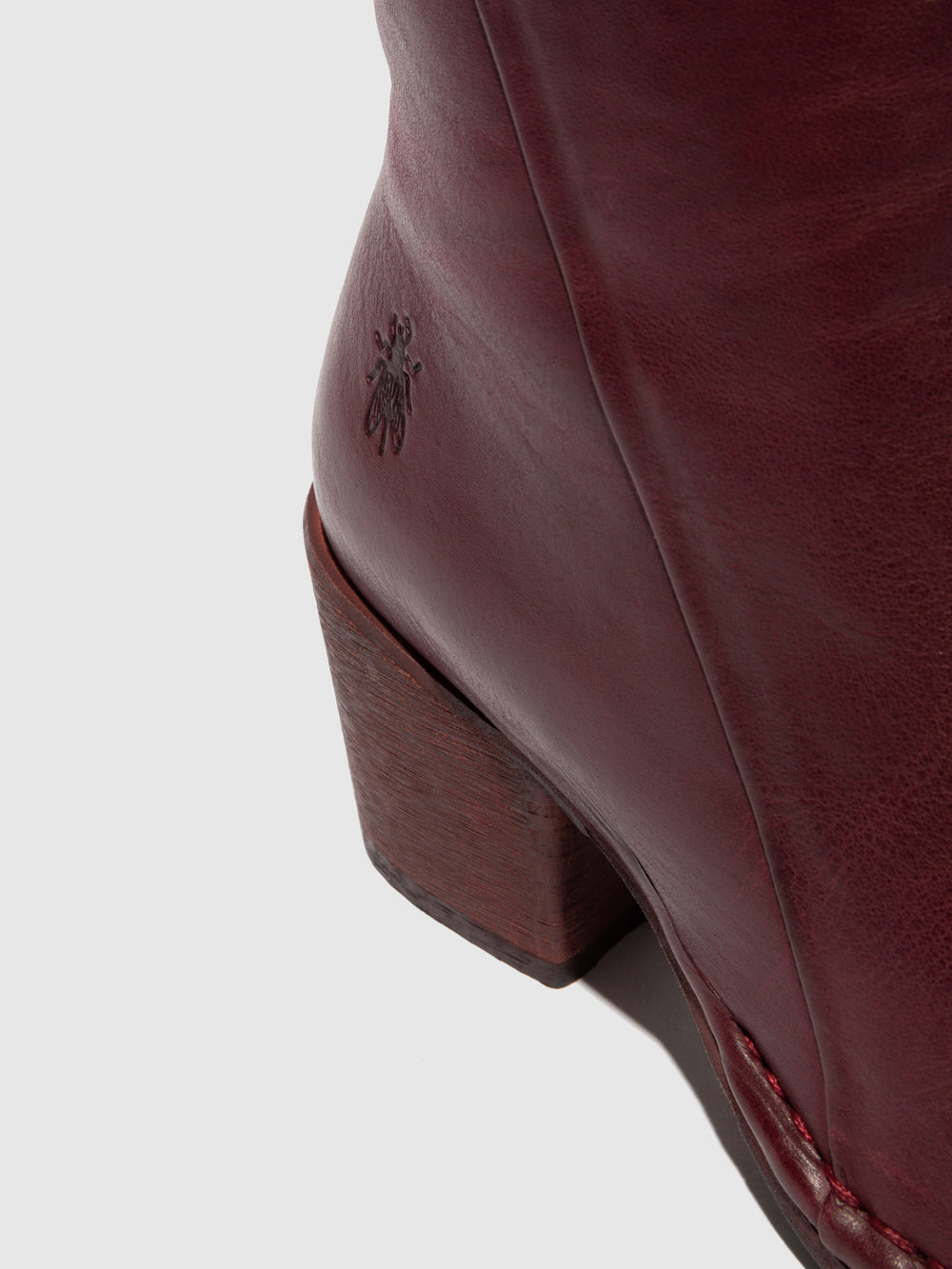 Zip Up Ankle Boots LUPE233FLY VERONA WINE