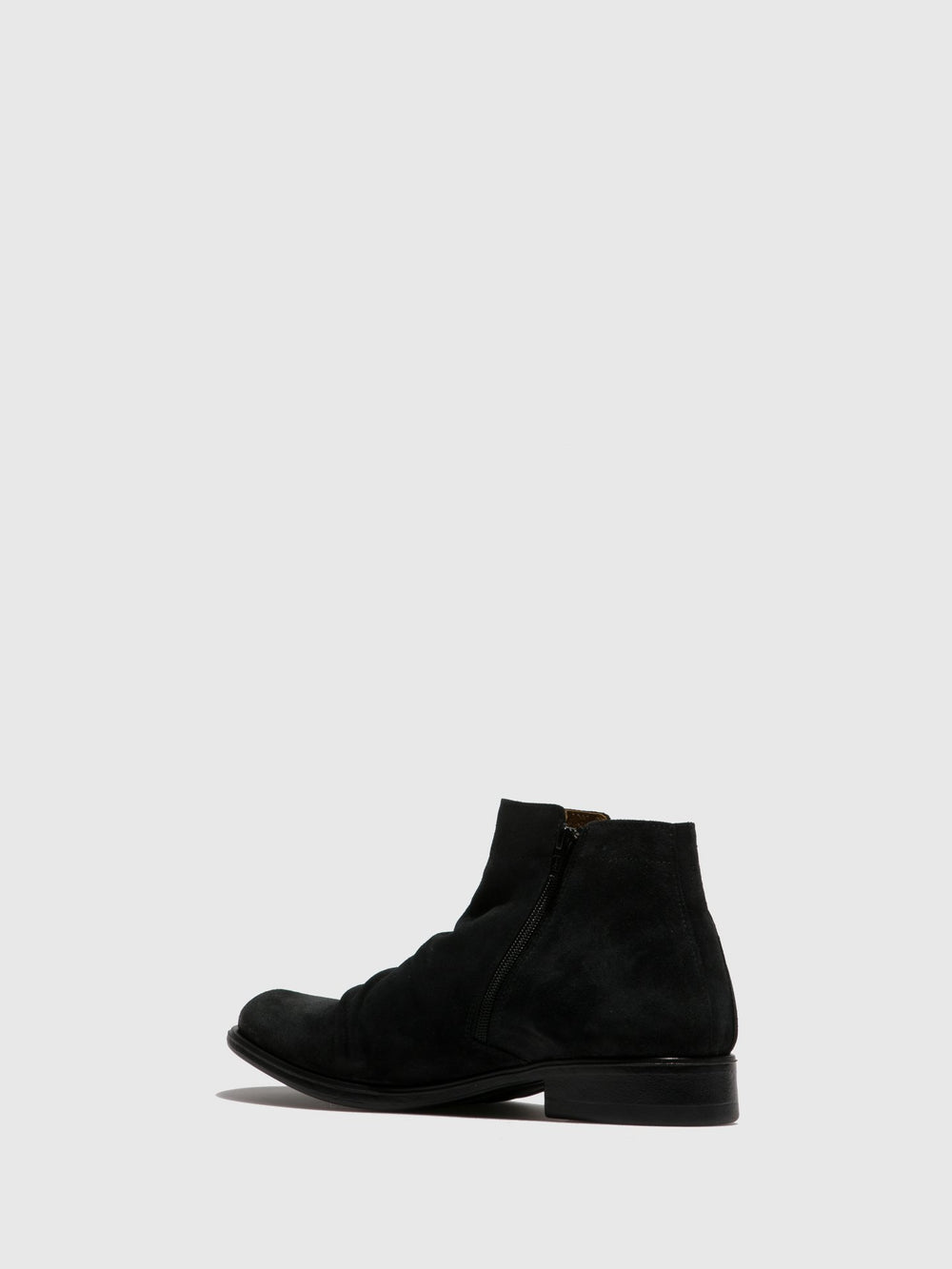 Fringed Ankle Boots MOBE592FLY BLACK