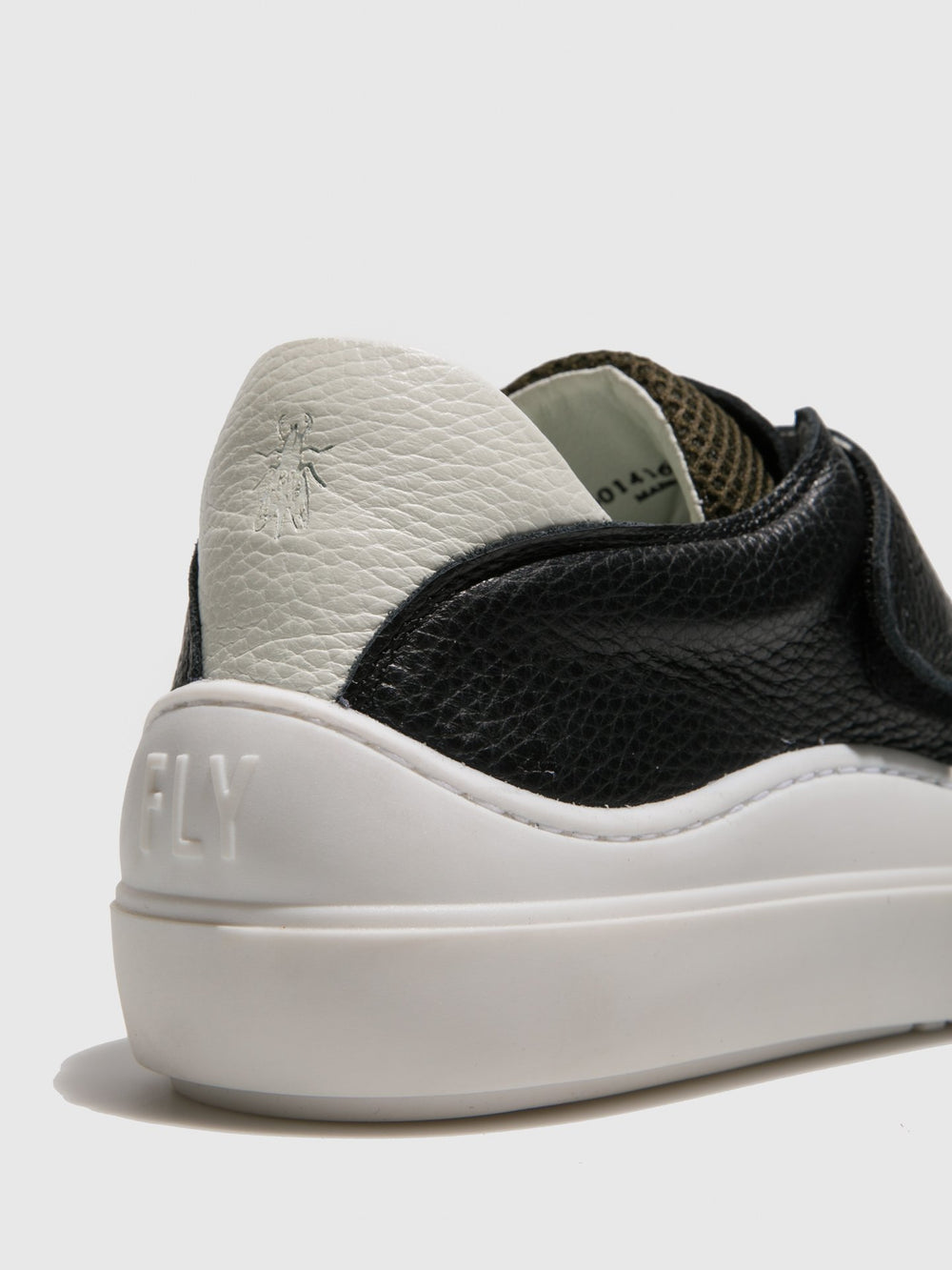 Velcro Trainers SEVU416FLY BLACK/WHITE