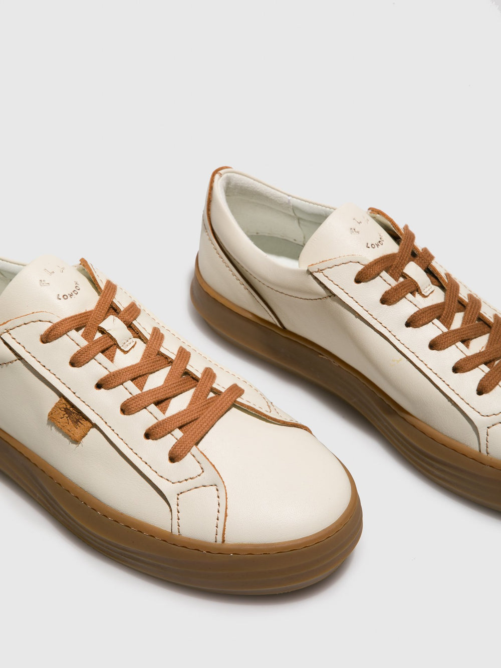 Lace-up Trainers CIVE424FLY CREAM