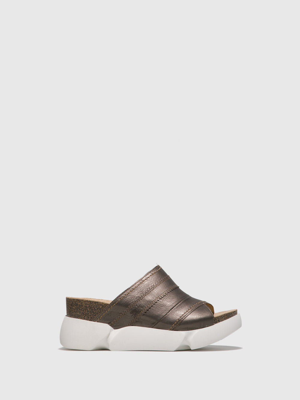 Open Toe Mules SUZE582FLY PEWTER
