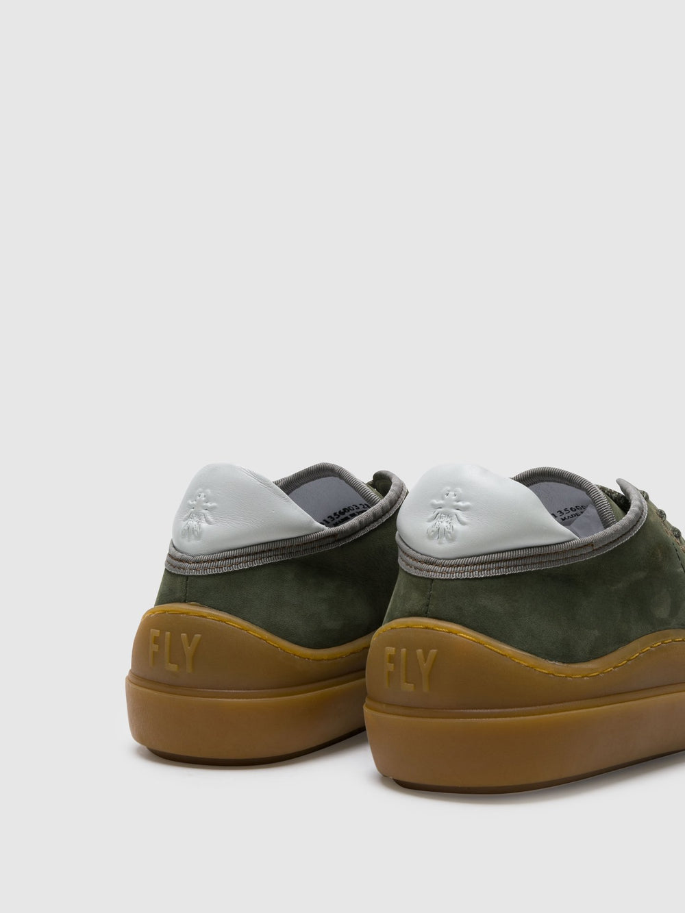 Lace-up Trainers SUMA356FLY MILITAR/OFFWHITE (CAMEL SOLE)