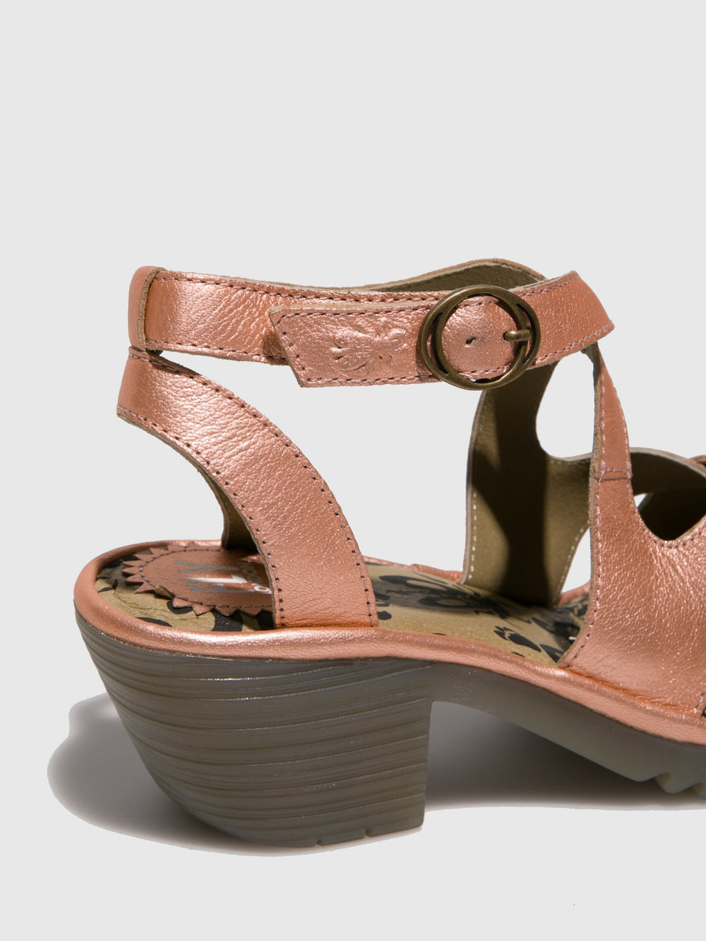 Ankle Strap Sandals WAFE152FLY BLUSH GOLD