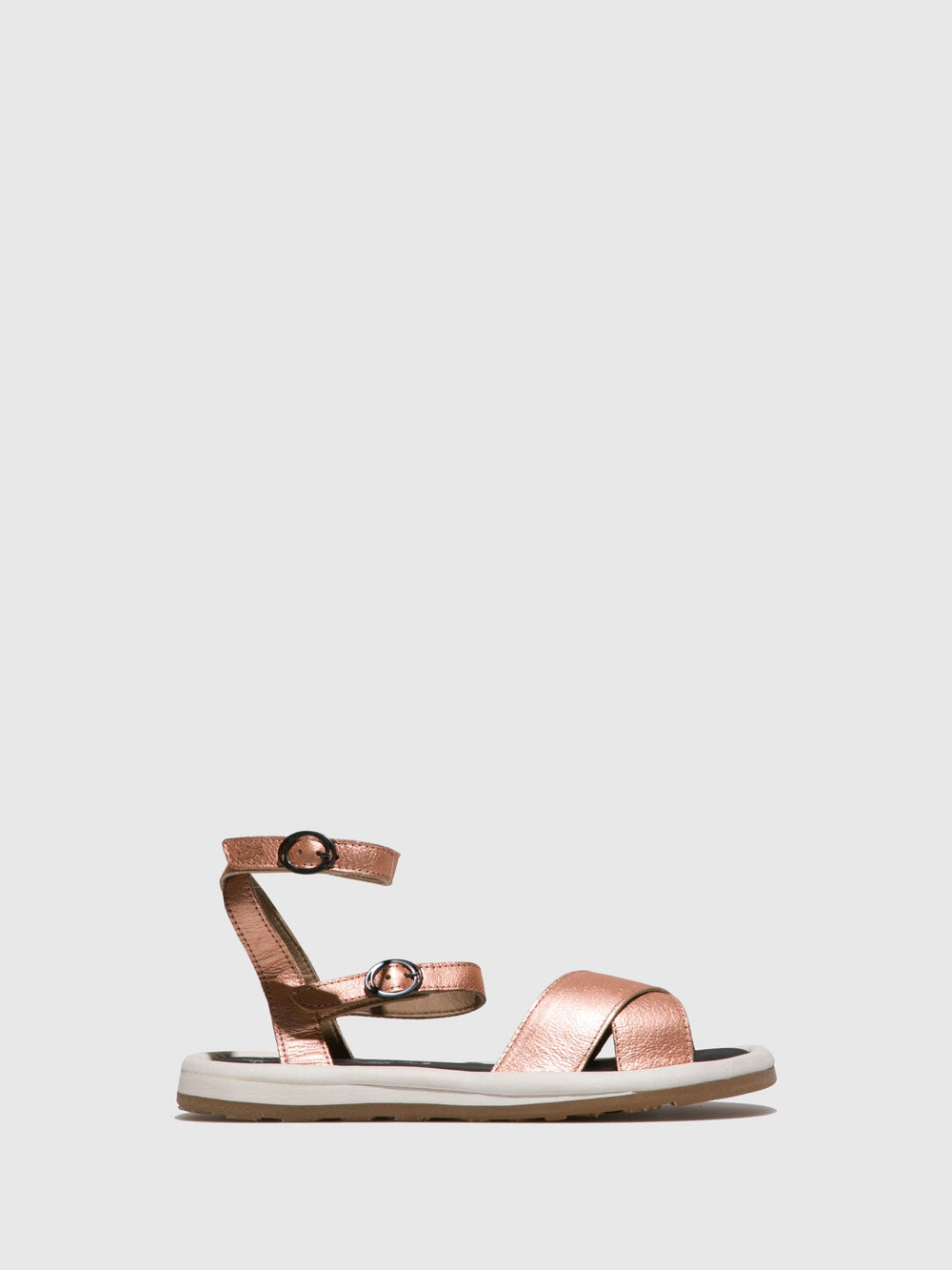 Ankle Strap Sandals FUGO201FLY BLUSH GOLD
