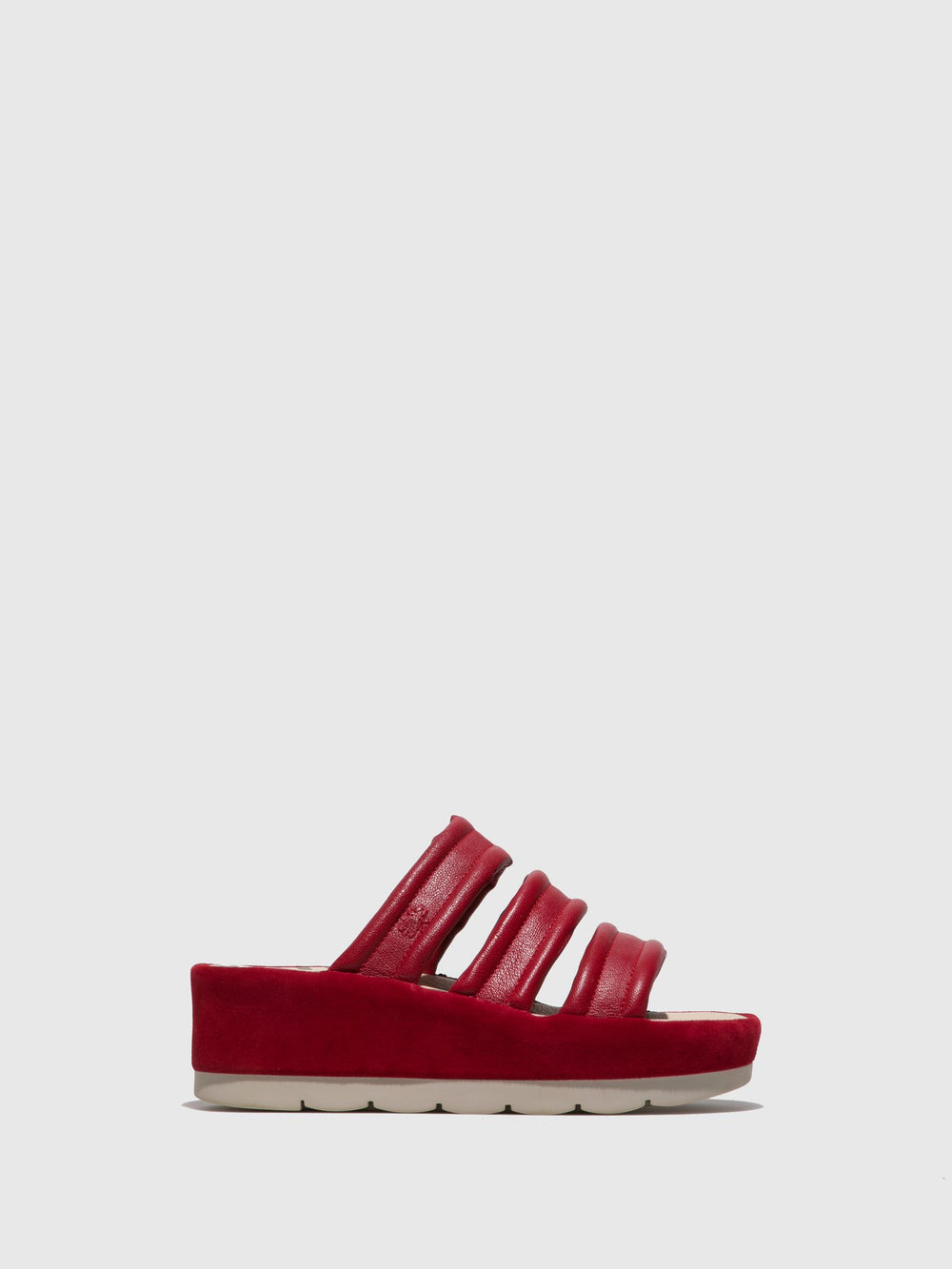 Open Toe Mules BOTE171FLY LIPSTICK RED/RED