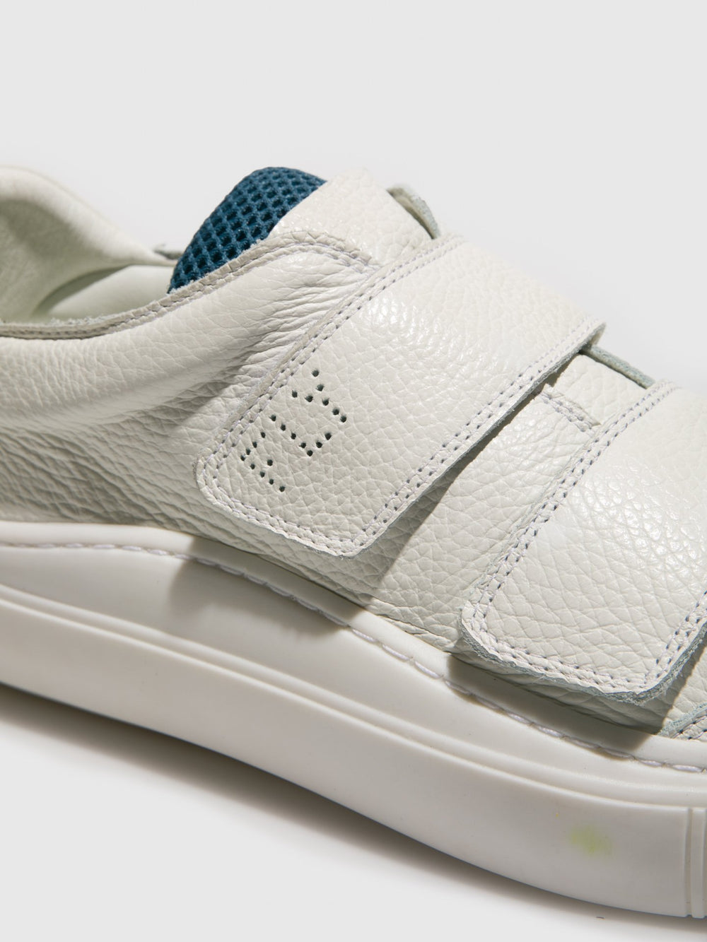 Velcro Trainers SEVU416FLY WHITE (WHITE SOLE)