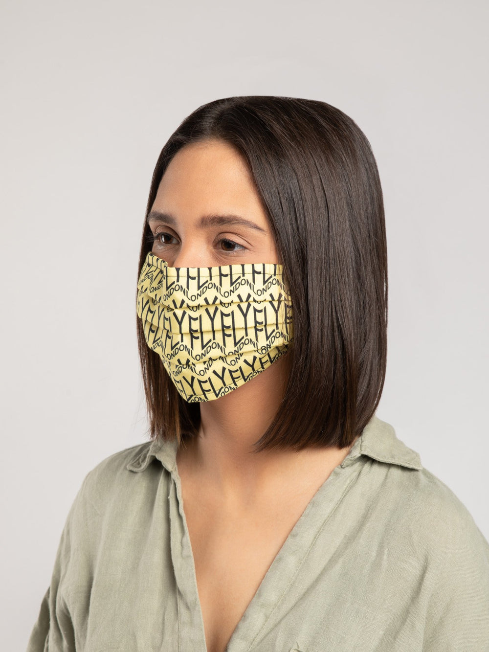 Reusable Face Mask PACK LET & TYLE Multicolor