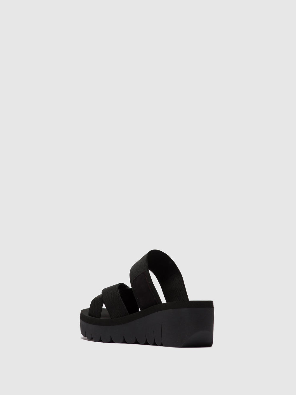 Strappy Mules YABO593FLY BLACK (BLACK)