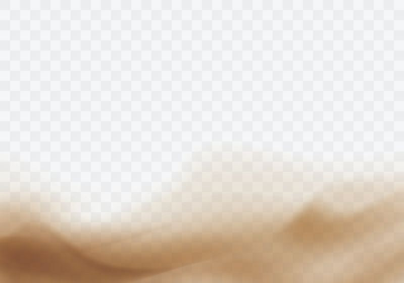 Desert sandstorm, brown dusty cloud border or  #488