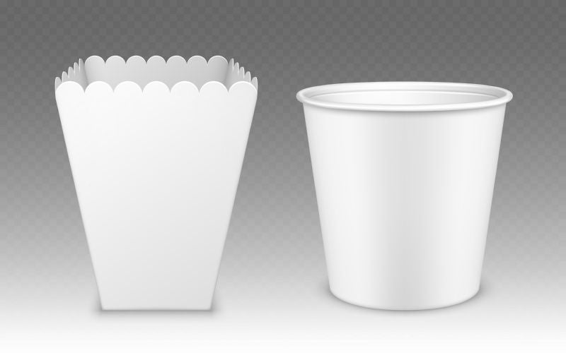 Blank bucket for popcorn, chicken wings or  #269