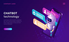 Free vector. Chatbot technology, isometric concept vector illustration. Website  #778