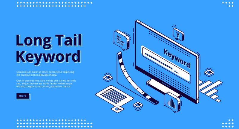 Long tail keyword isometric landing page. Seo  #470