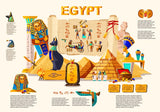 Ancient Egypt infographic cartoon vector travel concept.  #181