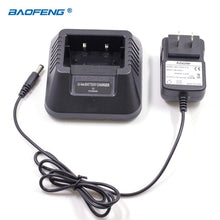 Load image into Gallery viewer, Radio Walkie Talkie BAOFENG Battery EU US UK AU Desktop Charger fit for BAOFENG UV-5R UV-5RA 5RB UV-5RE Plus Baofeng Accessories