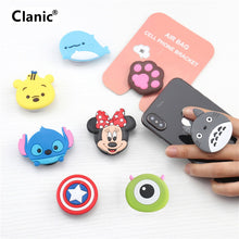 Load image into Gallery viewer, Cute Cartoon Mobile phone grip bracket phone expanding stand phone finger ring holder for phones for iphone x xs 8 xiaomi redmi
