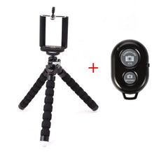 Load image into Gallery viewer, Mobile Phone Holder Flexible Octopus Tripod Bracket for Mobile Phone Camera Selfie Stand Monopod Support Photo Remote Control