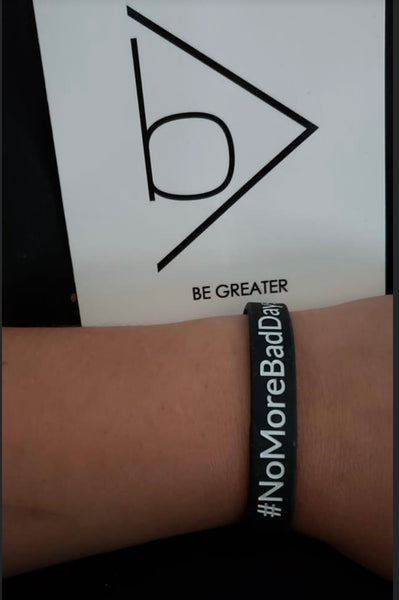 The #NoMoreBadDays Reminder Bracelet