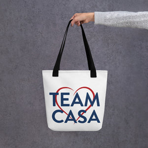 Open image in slideshow, Team CASA Tote Bag