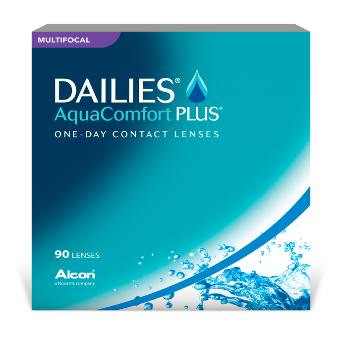 Dailies AquaComfort Plus Multifocal - Approvisionnement 1 an - Promotion Alcon