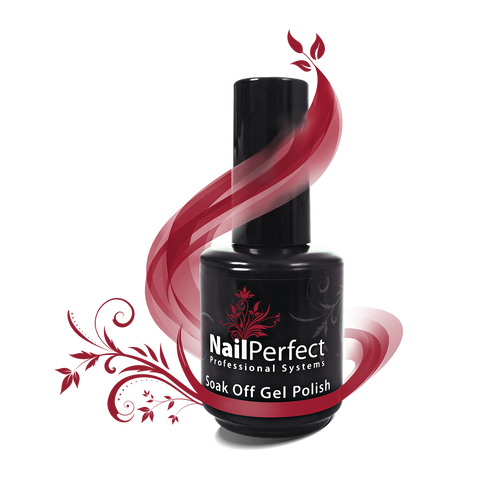 Soak Off Gel Polish - #137 - Red is the New Black