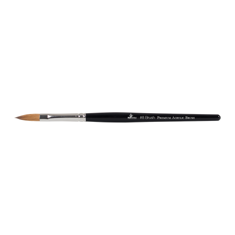 Premium #8 Acrylic Brush