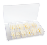 Tips - Medium Stiletto Natural (refill pack)