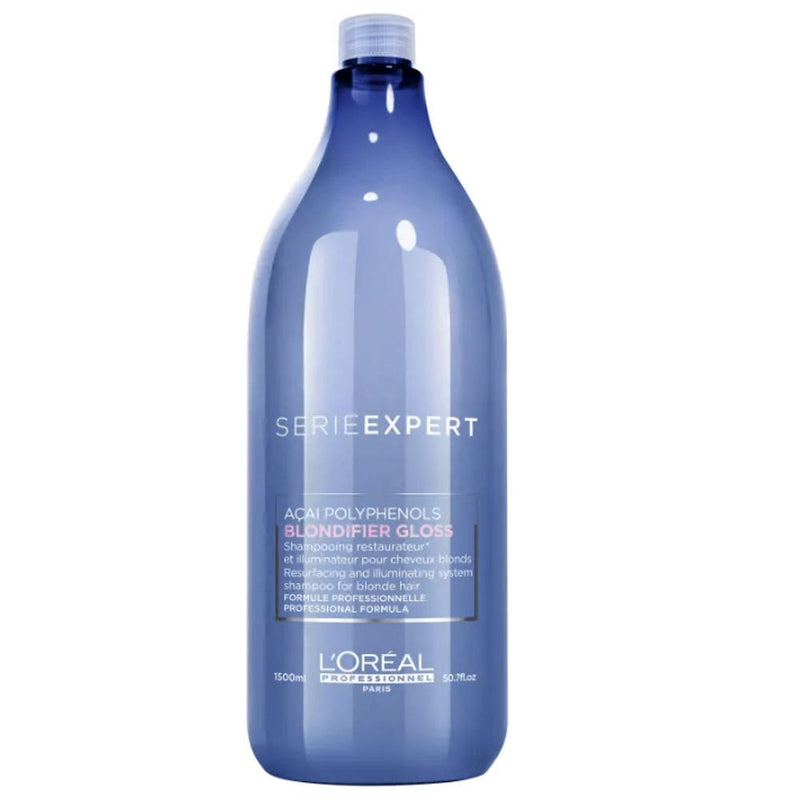 L'Oréal Professionnel Serie Expert Blondifier Gloss Shampoo By Loreal  , 1500ml