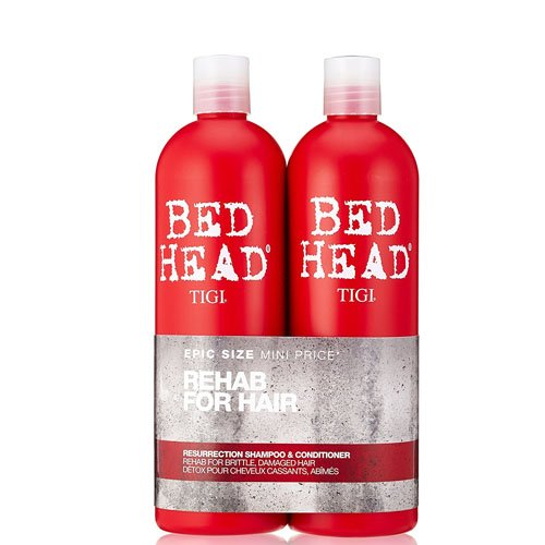 TIGI Bed Head Resurrection Shampoo & Conditioner DUO (25.36oz)
