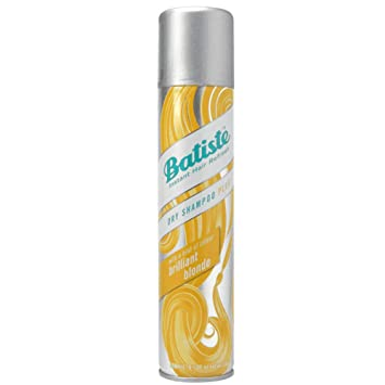 Batiste Dry Shampoo Plus, Brilliant light and Blonde 6.73 oz