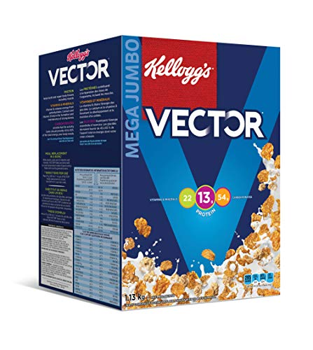 Kellogg's Vector Meal Replacement Cereal, 1.13 Kg/2.5lbs