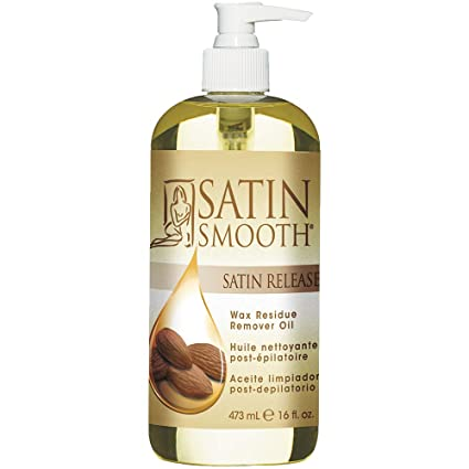 Satin Smooth Satin Release Wax Residue Remover Oil, 16 oz